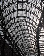 Ein Dach aus Glas