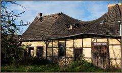 Ein Dach macht die Biege