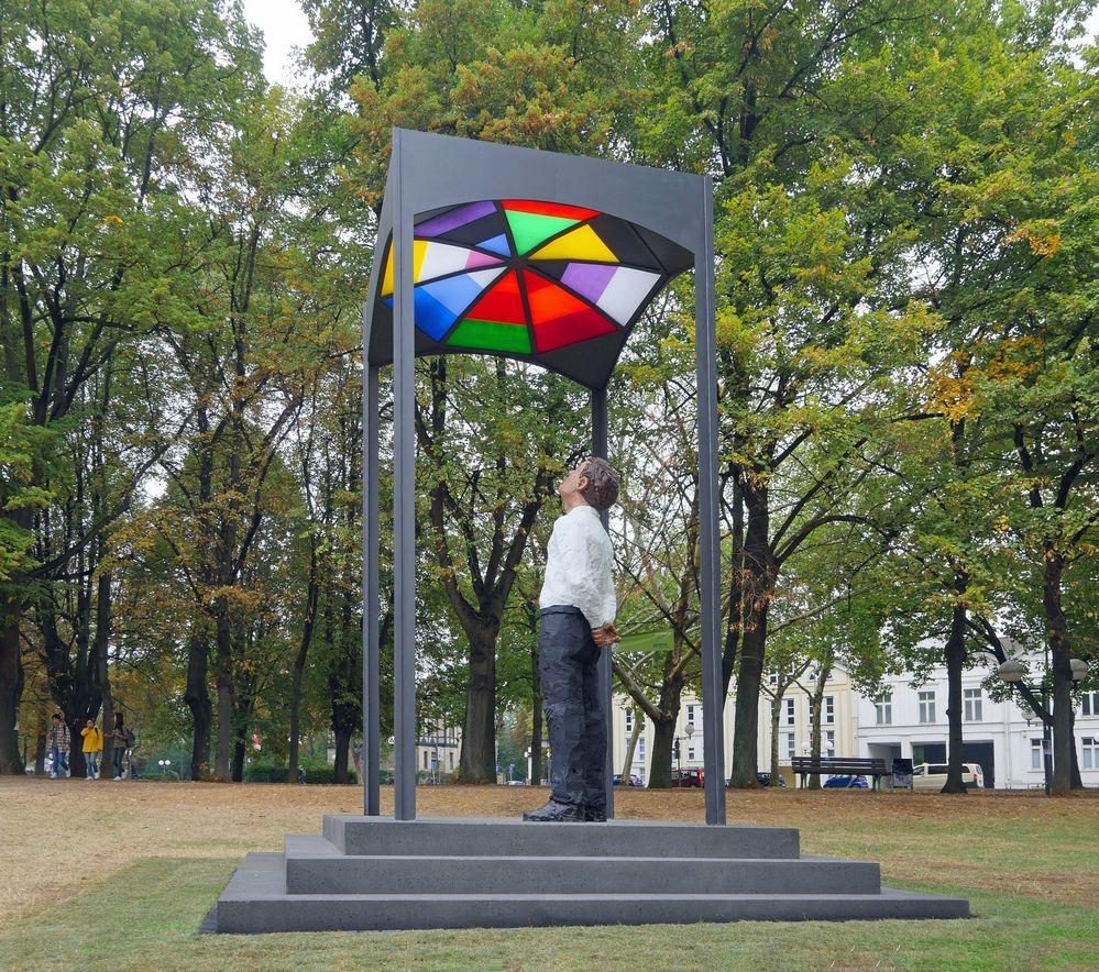- ein Denkmal für August Macke ...
