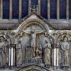 ein Detail der Außenansicht des Doms