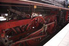Ein Detail des Fahrwerks der 01 1533-7