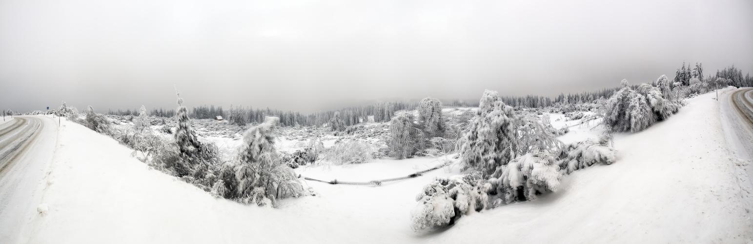 Ein Dezemberwinter  - Und wo ist eine Hütte?