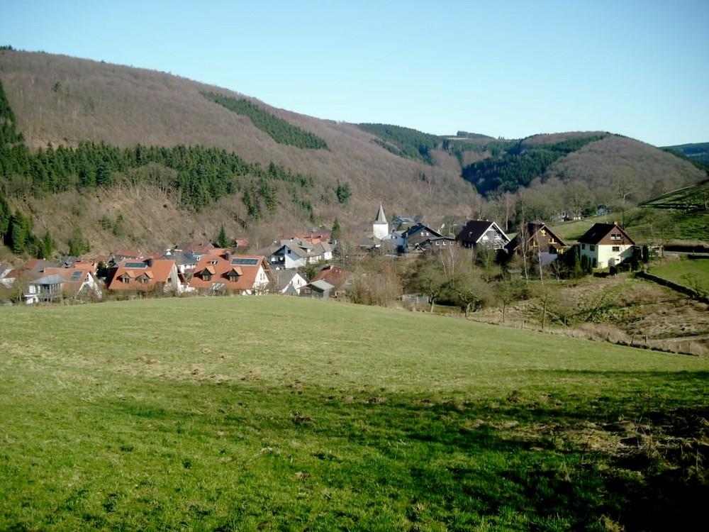 Ein Dorf im Sauerland