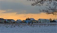Ein Dorf im Winterschlaf