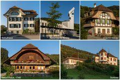 Ein Dorf mit Schloss