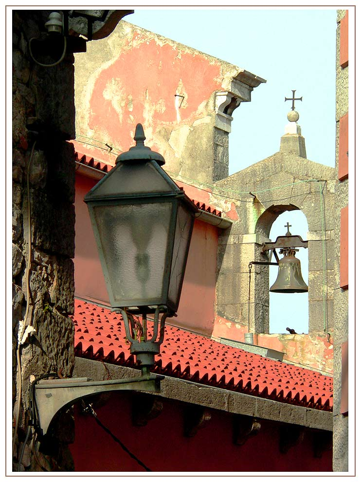 Ein Durchblick in der Altstadt von Labin