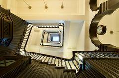 Ein edles Treppenhaus