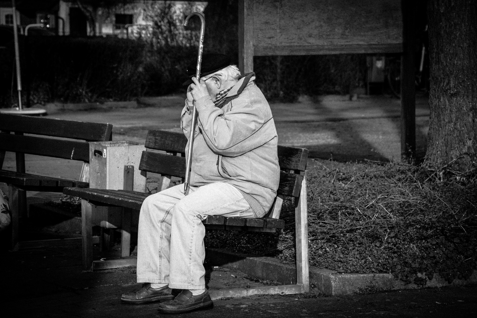 Ein einsamer Mann