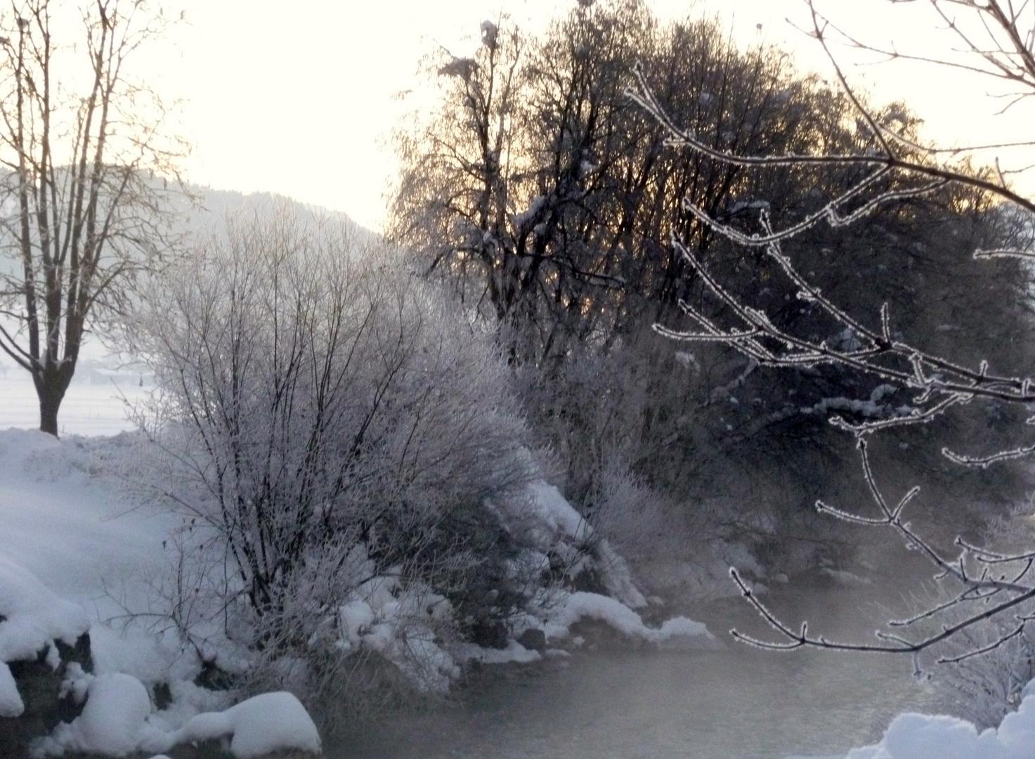 Ein eisiger Morgen