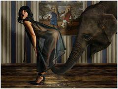 Ein elefantös sexy Sportclip ;-)