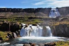 Ein Ensemble von Wasserfällen