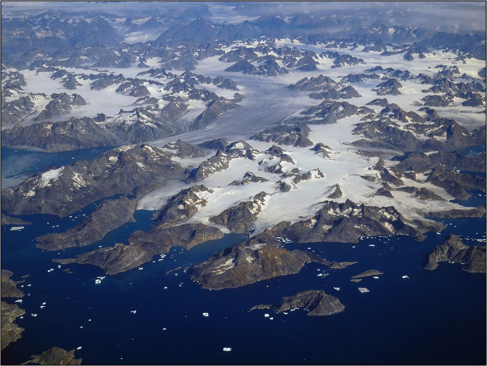 Ein erster Blick auf Grönland