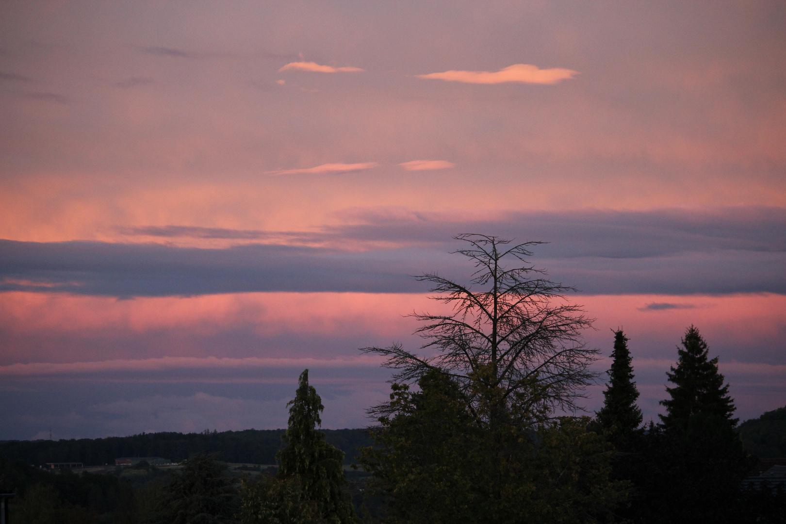 Ein etwas anderer Sonnenuntergang