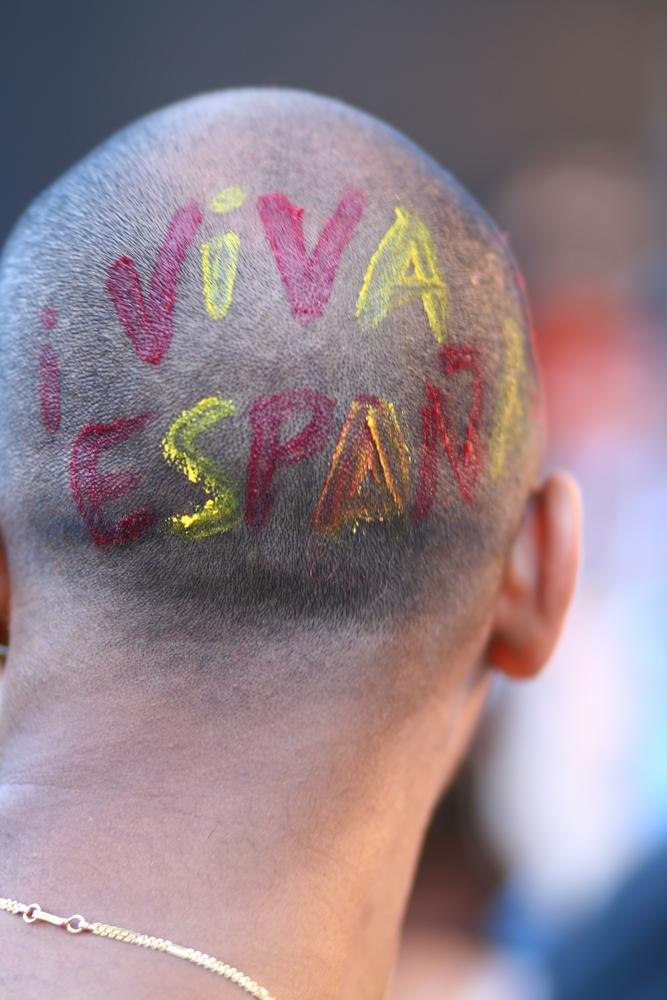 Ein Europameister in der Wiener Fanzone
