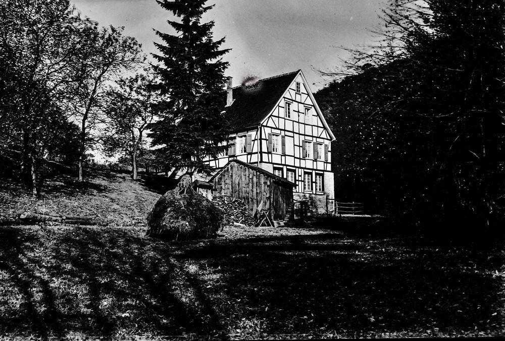Ein Fachwerkhaus im Bergischen Land.      ...120_2806