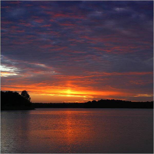 ein 'fast' typischer Morgen am See