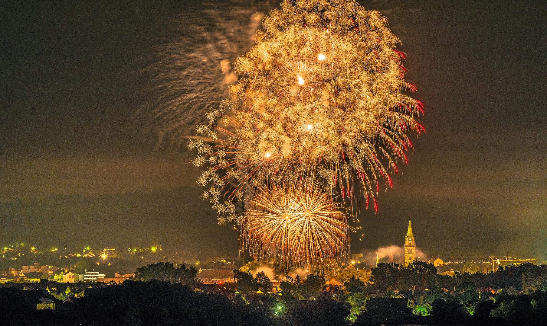 Feuerwerk Neumarkt