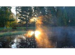 ein finnischer Morgen