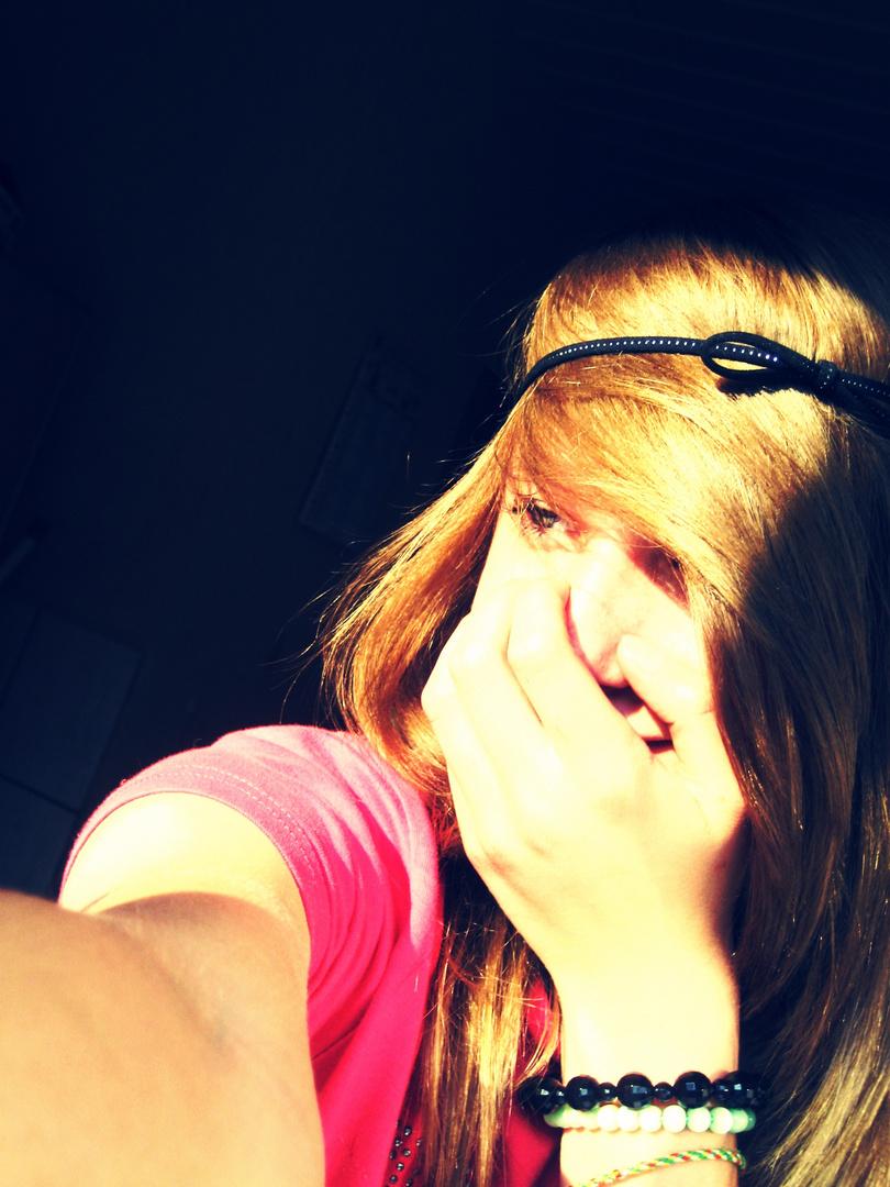 Ein Foto von einem glücklichen Mädchen ;*