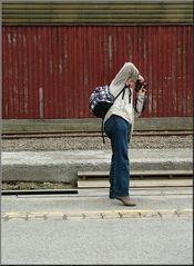 Ein Fotograf und sein Motiv