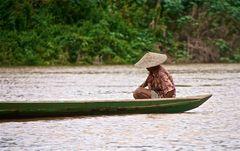 ein friedvoller nachmittag am mekong, laos 2010