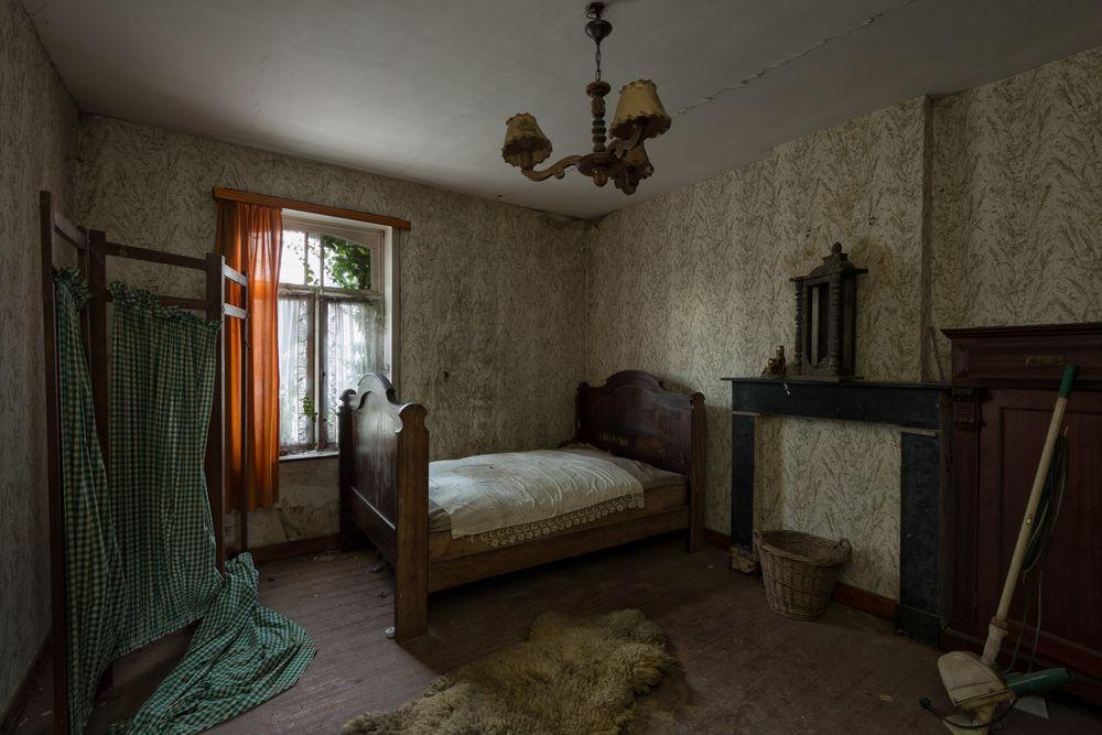 ein frisch gemachtes Bett...