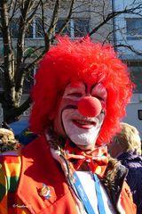 ein fröhlicher Clown