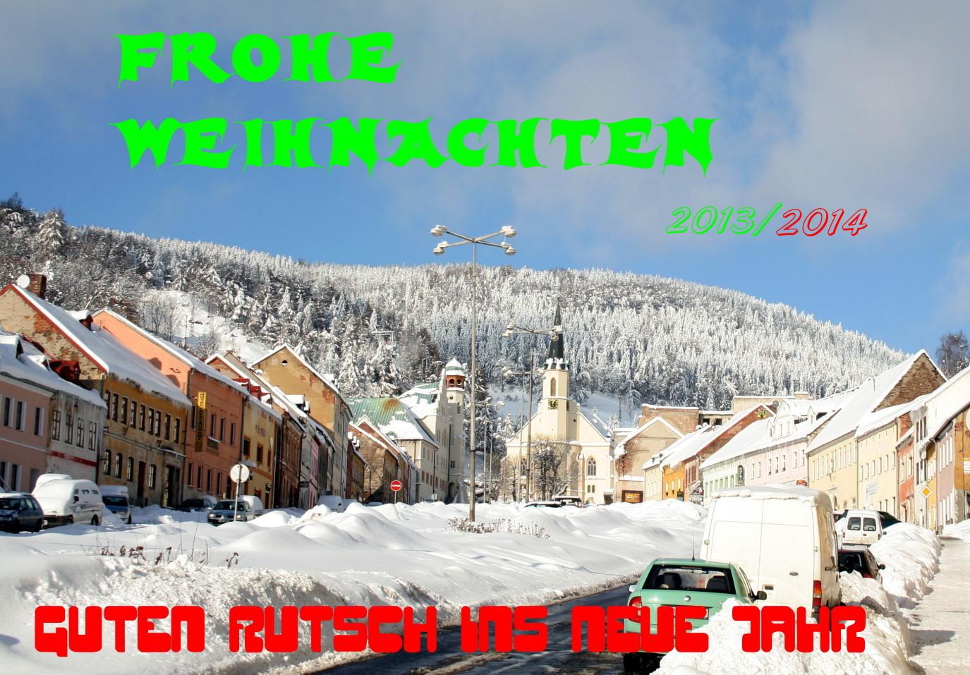 Ein Frohes Fest und guten Rutsch ins Neue Jahr...