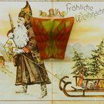 Ein frohes Fest wünsche ich allen FC - Usern mit dieser uralten Postkarte