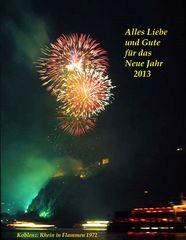 Ein frohes Neues Jahr 2013