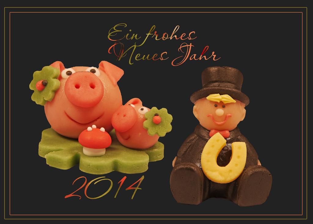 Ein frohes Neues Jahr 2014! Foto & Bild   karten und kalender ...