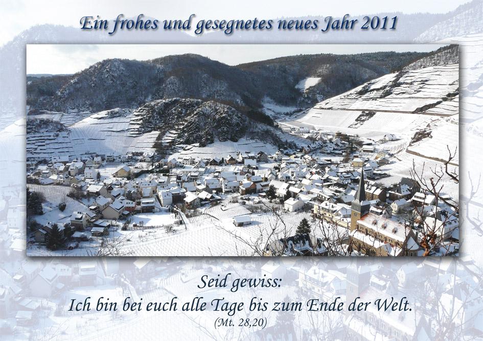 Ein frohes und gesegnetes neues Jahr 2011 Foto & Bild   karten und ...