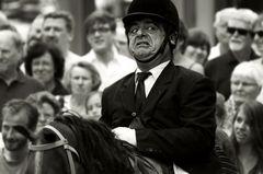 Ein furchtsamer Reitersmann