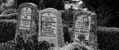 Ein Gang über den Friedhof