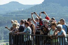 ein ganz normaler Samstag auf der Bastei