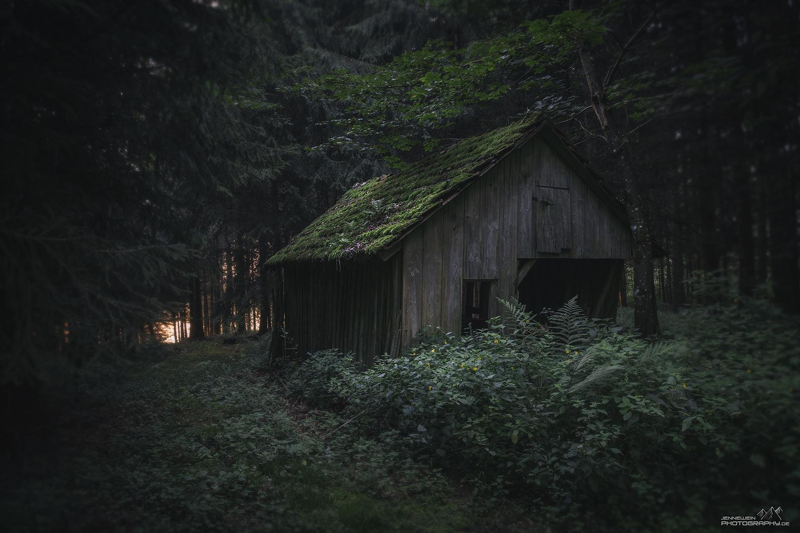 Ein ganz versteckter Ort ...