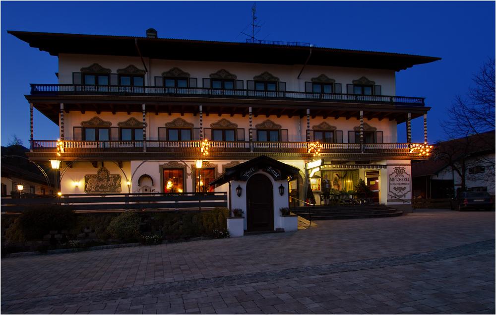 Ein Gasthof in Schleching