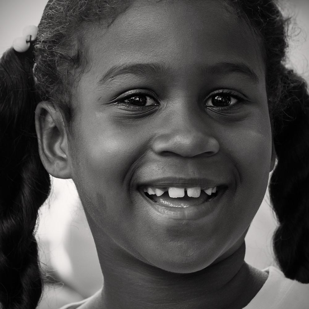 ein geschenktes Lächeln