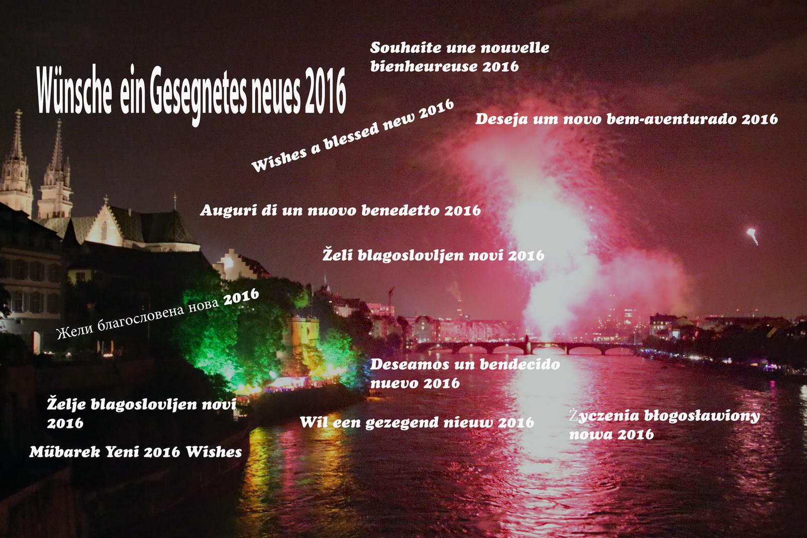 Ein Gesegnetes Neue Jahr 2016 Foto & Bild   gratulation und ...