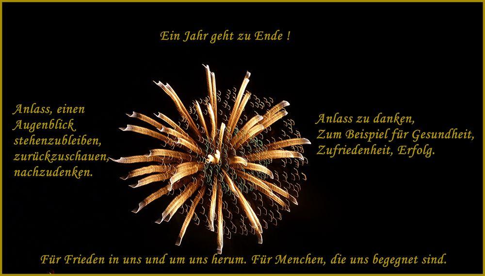 Segenswünsche Neues Jahr