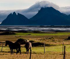 Ein Gewitter droht , Island