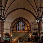 Ein Gewölbe in einer Kirche