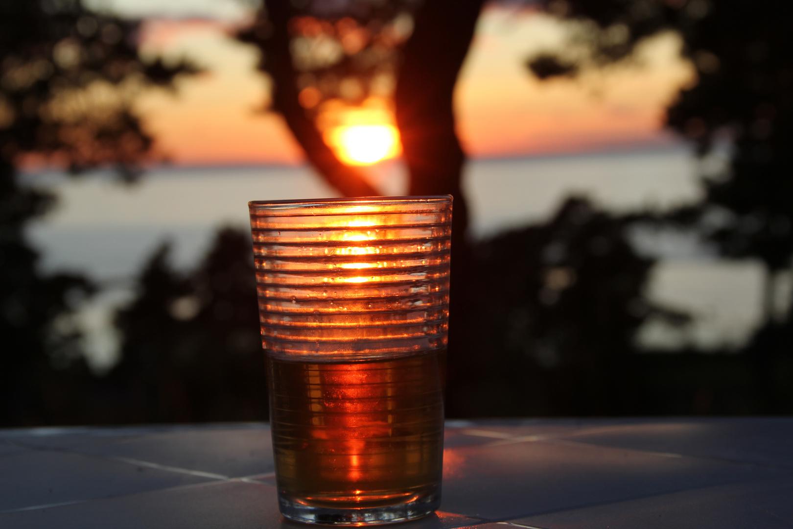 Ein Gläschen am Abend