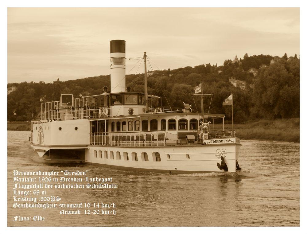 ein Glanzstück auf der Elbe....