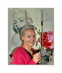- ein Glas zu Ehren von Marilyn -