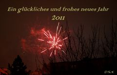 Ein glückliches und frohes neues Jahr 2011
