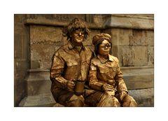 Ein goldiges Paar