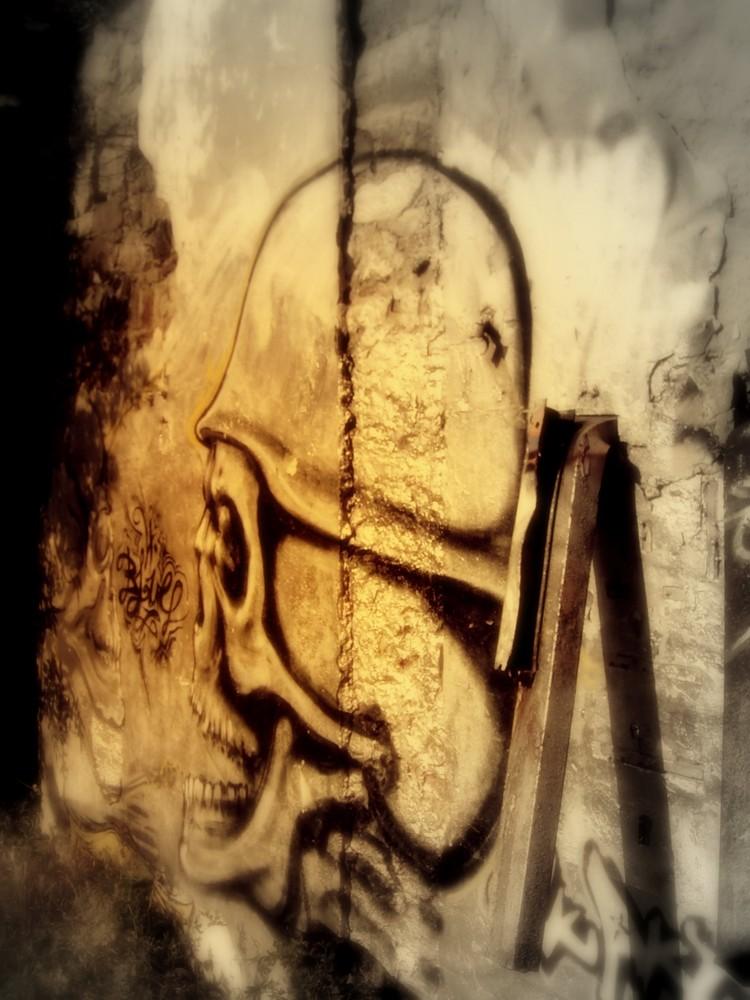 ... ein Graffitti der [DUNKLEN ART]