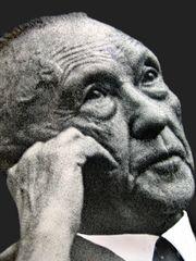 Ein großer Mensch der Zeitgeschichte: Dr. Konrad Adenauer, 1. Bundeskanzler der BRD