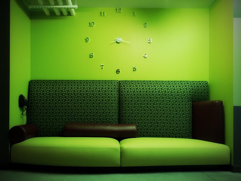 Ein grünes Warteplätzchen